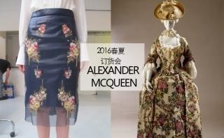 alexander Mcqueen - 2016春夏订货会