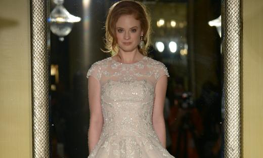2016春夏婚紗[Oleg Cassini]紐約時裝發布會