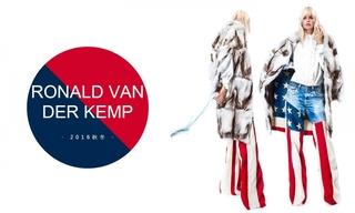 Ronald Van Der Kemp - 2016秋冬