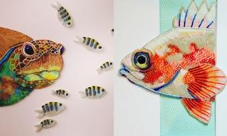 美國藝術家Eleanor Pigman - 海洋世界