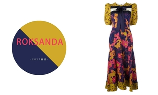Roksanda - 花團錦簇 (2017春夏)