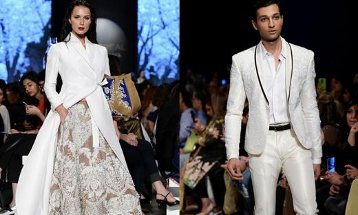 2018春夏婚紗[Ali Xeeshan]巴基斯坦時裝發布會