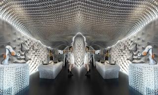 英國奢侈品牌Bottletop借3D打印打造環保的門店裝飾&奢侈店合集