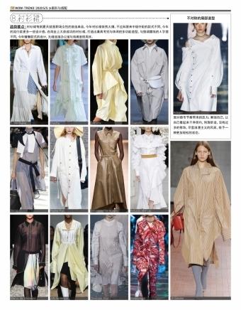 2020春夏 T台趋势 - 衬衫裙