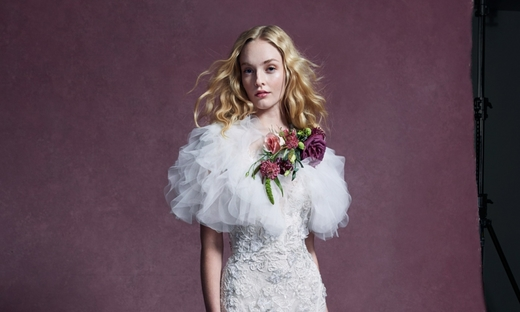 2020秋冬婚纱[Marchesa]纽约时装发布会