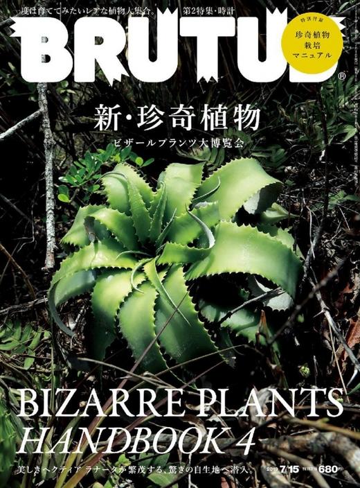 BRUTUS 日本 2019年12月