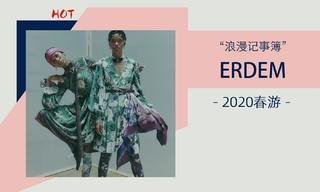 Erdem - 浪漫記事簿(2020春游)