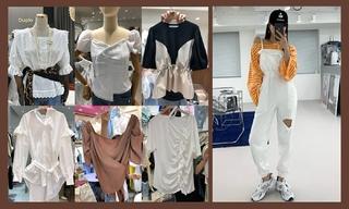 【韓國東大門】粗花呢|袖子設計|層次感