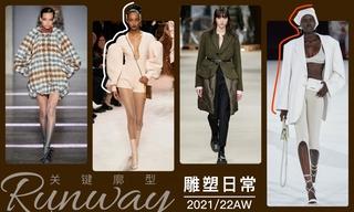 2021/22秋冬廓型:雕塑日常
