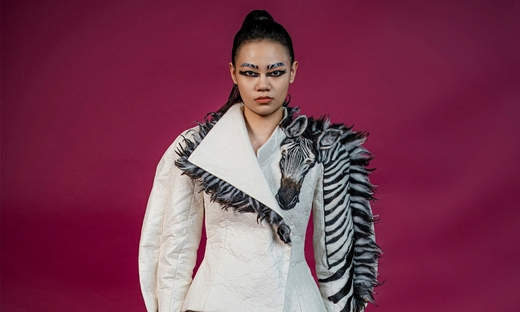 2020秋冬高级定制[Guo Pei]巴黎时装发布会