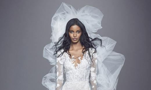 2021秋冬婚纱[Marchesa]纽约时装发布会