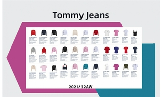 Tommy Jeans - 2021/22秋冬订货会